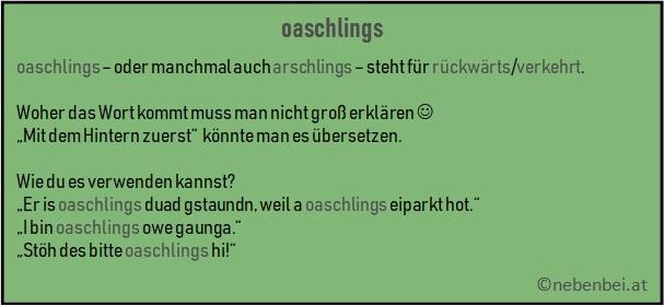 oaschlings